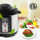 Kitchen Multifunction Instant Pot 7-in-1 Programmable Electric Pressure Cooker