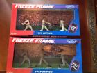 2-1997 Kenner Starting Lineup Freeze Frame Mike Piazza/Frank Thomas Figure Sets