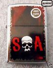 SONS OF ANARCHY SKULL ZIPPO WINDPROOF LIGHTER STREET CHROME - NEW IN BOX