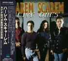 HAREM SCAREM Live Ones +1 JAPAN 2 CD OBI WPCR-1304/5 Harry Hess Pete Lesperance