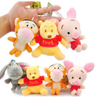 Winnie the Pooh Tigger Eeyore Piglet Plush Toys Soft Dolls with Chain 11cm 44