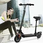 Ancheer E 77 Electric Scooter with Retractable Seat Foldable Electric BikeI hot