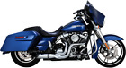 Python Chrome 2 into 1 Rayzer Exhaust for 17 19 Harley Touring FLHX FLHR FLTRU