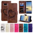 For Samsung Phone Note 8 Leather Magnetic Flip Stand Card Slot Wallet Case Cover