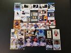 HUGE LOT OF 30 2017-10 MLB NATIONAL TREASURES, INCEPTION AUTOS & JERSEY CARDS