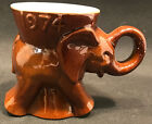 1974 Frankoma GOP Elephant Mug 🐘  Republican Party ~ Political Collectible
