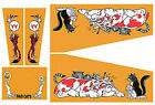 BAD CATS Pinball Machine Cabinet Decals - NEXT GEN - LICENSED