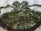 Dew Drops Couture Girls Twirl Dress Chasing Fireflies 4 4t 5 Fall Colors