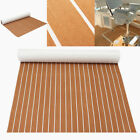 95x47 Marine Boat EVA Foam Teak Floor Sheet Decking Yacht Mat Self Adhesive