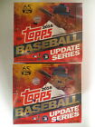 2016 TOPPS BASEBALL UPDATE SERIES FACTORY SEALED HOBBY JUMBO 2 BOX LOT