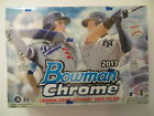 2017 BOWMAN CHROME CHOICE FACTORY SEALED HOBBY BOX 3 AUTOS AUTOGRAPHS