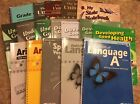 Abeka 4th Grade Complete Answer Key Lot plus Student Extras