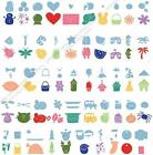 CRICUT DOODLECHARMS SHAPES CARTRIDGE NEW ALL OCCASION CHARMS BORDERS TAGS