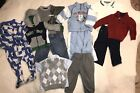 HUGE Lot Baby Boys Clothes 18 mos months 12 pc FALL WINTER Toddler