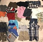 Huge Lot 27 Pc Lot Baby Boy Clothing Sz 18 Mos Summer Short Sleeve Shirts Tops