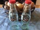Coca Cola USC Gamecocks Champions SALT  PEPPER SHAKERS  2 Bottles With Caps