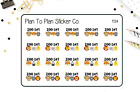 1134 Zoo Day Planner Stickers