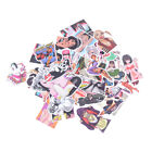 50Pcs Sexy Girl Skateboard Stickers DIY Laptop Luggage Stickers Decals