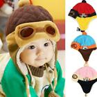 Pilot Beanie Hats For Kids For Winter Warm Cotton Acrylic With Earflaps Beanies