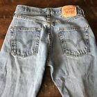 Levis Womens 501 High Waisted Button Fly 5 Pockets 90s Style Mom Jeans Size 30
