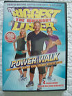 The Biggest Loser DVD 4 High Energy Indoor Workouts Power Walk Low Impact Cardio