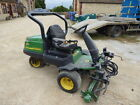 JOHN DEERE 2500A GRASS MOWER RUNS AND DRIVES NEEDS SOME REPAIR
