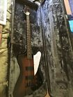 Epiphone Thunderbird Bass Guitar. 4 String. Tabacco Burst. w/Hard Case