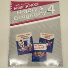 Abeka 4 History Geography Curriculum Lesson Plans Teacher Book Home School