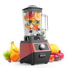 Commercial Blender,3-Speed Smoothie,Dessert,Ice Crushing,1400W 30000RPM High Spe