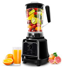 Commercial Blender Smoothie, Manual/Variable Speed Pulse Control (28,000 RPMs),