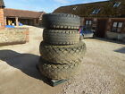 MASSEY FERGUSON TRACTOR 4WD WHEELS AND GRASS TYRES CAME OF 4355 I THINK