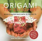Origami for Children Book  paper pack with 35 proj by Ono Roshin Paperback