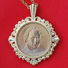 US 2010 Presidential One Dollar BU Unc Coin GP Necklace NEW James Buchanan