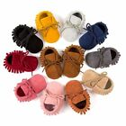Baby Tassel Soft Sole Suede Shoes Infant Toddler Newborn Boy Girl Moccasin Shoes