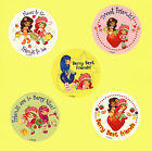 10 Strawberry Shortcake Friends Large Stickers Party Favor