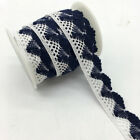 2yard Apparel Sewing Fabric Trim Cotton Crocheted Lace Fabric Ribbon Diy Crafts