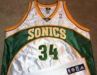 NEW VTG AUTHENTIC RAY ALLEN SEATTLE SONICS SUPERSONICS NBA ADIDAS JERSEY 52