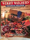 Weight Watchers Favorite Recipes Pre Owned
