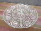 Clear Pressed Glass Vintage Round Dish * Circa 1960 *