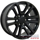 Matte Black Wheel 20x9 for 2002 2013 Chevy Avalanche OWH2435
