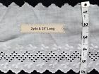 A20 2yds + Vintage Eyelet Lace Trim Flounce Scalloped Edging Sewing Projects
