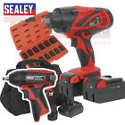 Sealey Tools 18v & 12V  Impact wrench triple pack CP3005 CP1204 & IMPACT SocketS