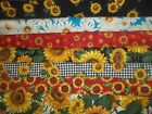 SUNFLOWER Daisy FLORALS BTY Cotton quilt FABRIC U Pick See LISTING for DETAILS