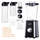 Housmile Personal Fruit Vegetable Blender with Travel Lid + Travel Sport Bottle