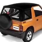 For Geo Tracker 1995 1997 Bestop 51364 01 Replace a Top Black Crush Soft Top