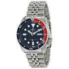 Seiko SKX009K2 Automatic Blue Red Dial Stainless Steel 200m Diver Watch SKX009