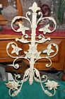 Vintage Style French Victorian Wall Mounted Candle Holder Sconce-#1-Flowers