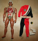 Vintage Mattel PULSAR ULTIMATE MAN OF ADVENTURE w Outfit  Mission Disc 1976
