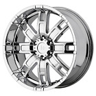 00 06 Chevy Avalanche 1500 17x8 6x55 +0 1063 Helo 835 HE835C Wheels Rims Chro