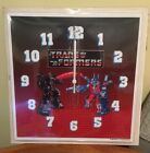 Vintage Transformers Wall Clock 1986 New Old Stock